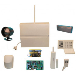 Pack infrasound detection alarm wireless home volumetric store house villa jablotron
