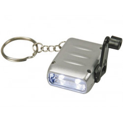Mini dynamo flashlight 2 leds zl3884