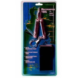 pliers 12 functions flat Phillips screwdriver small large knife nail file chisel key holder bending