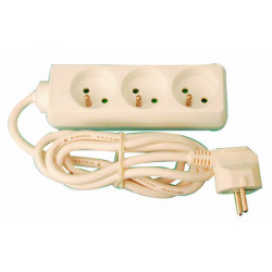 Multiplug electrical multiplug 3x1mm2 3 inputs electrical multiplug connector electric adapter plug electrical multiplugs electr