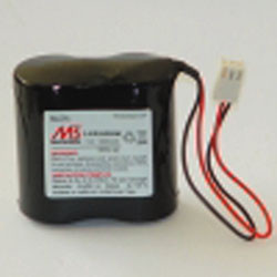 Batli06 5ah battery 7.2v 5.8ah pil-s04 dp1000 dp8000 lithium atral daitem logisty visonic somfy