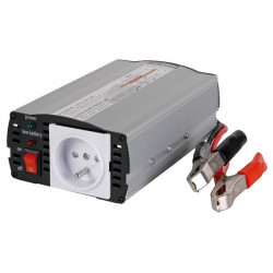 Modified sine wave power inverter 300w 24vdc in 230vac out pin earth 'auto restart'