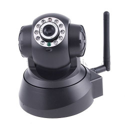 Motorizzata telecamera ip wireless wifi a colori compatibile audio iphone pan tilt