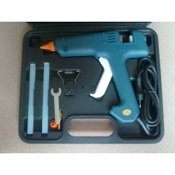 Pistolet a colle professionnel 220v 150w 11mm nl303 temperature coffret