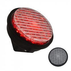 IP65 Waterproof Dia.100mm Red LED Traffic Modules For Traffic Lights