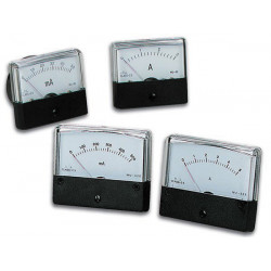 Analogue current panel meter 100µa dc 70 x 60mm