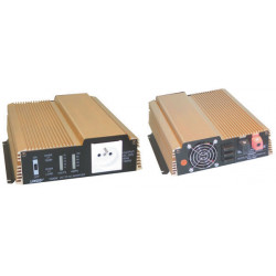 Modified sine wave power inverter 1000w 24vdc in 230vac out pin earth