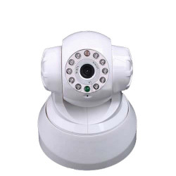 Wifi ip camera wireless alimentato iphone compatibile colore audio pan tilt sensore di movimento