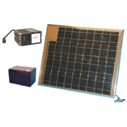Solar panel pack 1500ma + rechargeable batterie + converter 12vdc 220vac solar panels solar panel solar panel