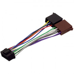 Cable iso pour autoradio hq iso-sony16p
