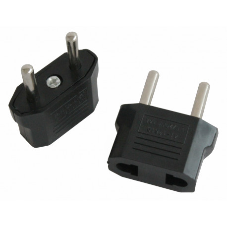 Travel adapter plug china japan canada us electric sector to euro plug converter asia