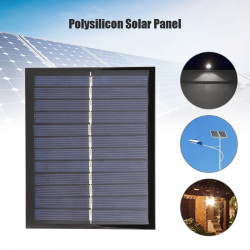 Solar Panel 6v 1.5w 112 * 91 * 3mm Charger for battery power system power supply