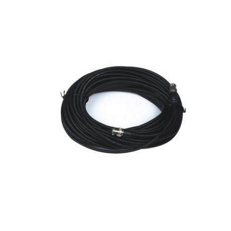 Cable 75 ohm 50m male bnc to male bnc video surveillance accessories cables wires