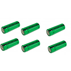 1.2V 2/3AAA rechargeable battery 400mah 2/3 AAA ni-mh nimh cell with tab pins for electric shaver razor cordless