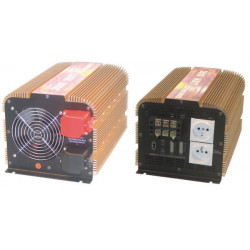 Modified sine wave power inverter 3000w 24vdc in 230vac out pin earth