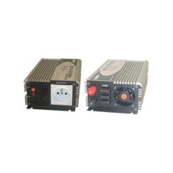 Modified sine wave power inverter 600w 12vdc in 230vac out pin earth 'soft start'