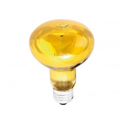 Coloured spot yellow 60w r80