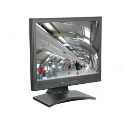 19' tft farbmonitor vga & video eingang