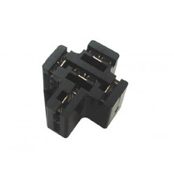 Socket for car relay pcb model