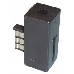 Phone plug pull 2 contacts us black phone telephone exchanges telephony adapters