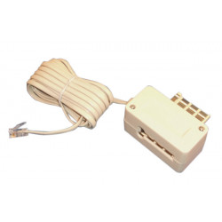 Cable telephone 3m c72m to rj11 cable telephone plug cable telephone