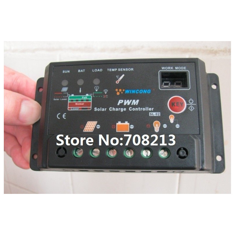 30a Pwm Solar Controller For Solar System Solar Charge